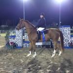 Carolyn and Moose - Barry Lane Jumper Classic Winner