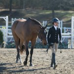 Julia and Lion- 1st Show doing the Small JRS!!